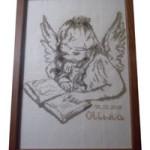 Aniolek z książką