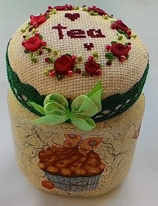 słoik herbaciany